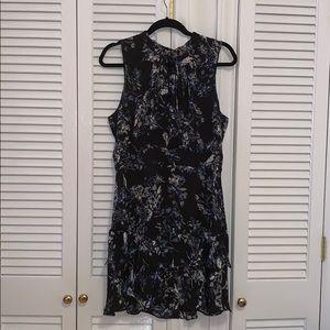 Silk Floral Dress Sz. Large